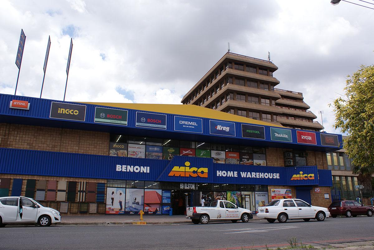 Benoni Mica store